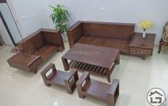 Phần khung bộ sofa gỗ hiện đại giá rẻ