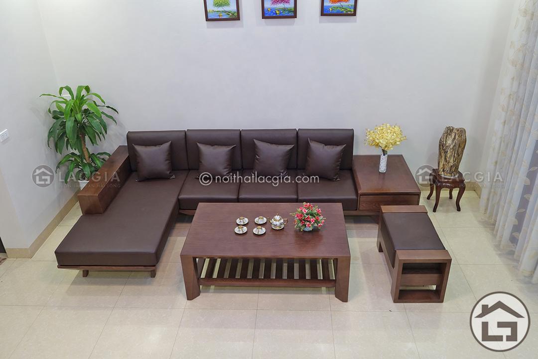 Sofa gỗ chất lượng cao cấp tại Nội Thất Lạc Gia