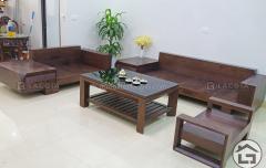 sofa go cho khong gian phong khach dep SF12 36 240x152 - Thiết kế thi công nội thất tại các tỉnh thành khu vực phía Bắc