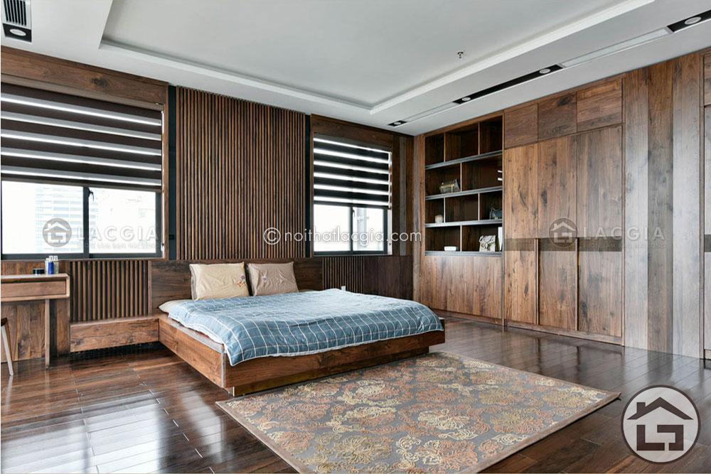 GN16.. - Giường gỗ đẹp GN16