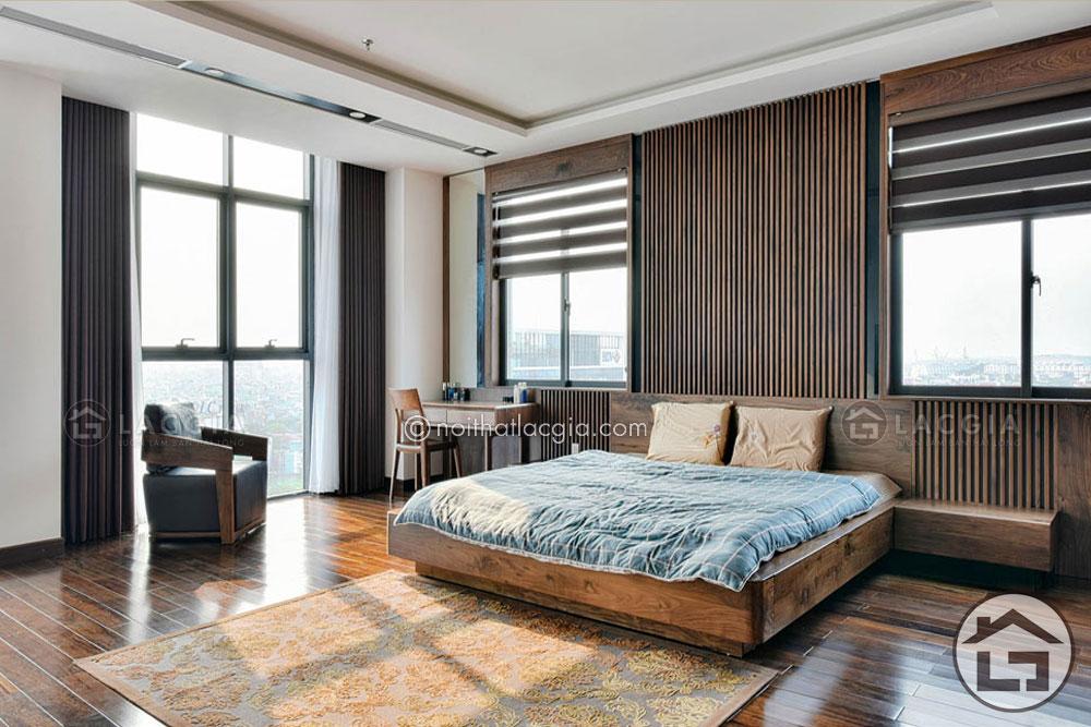 GN16 - Giường gỗ đẹp GN16