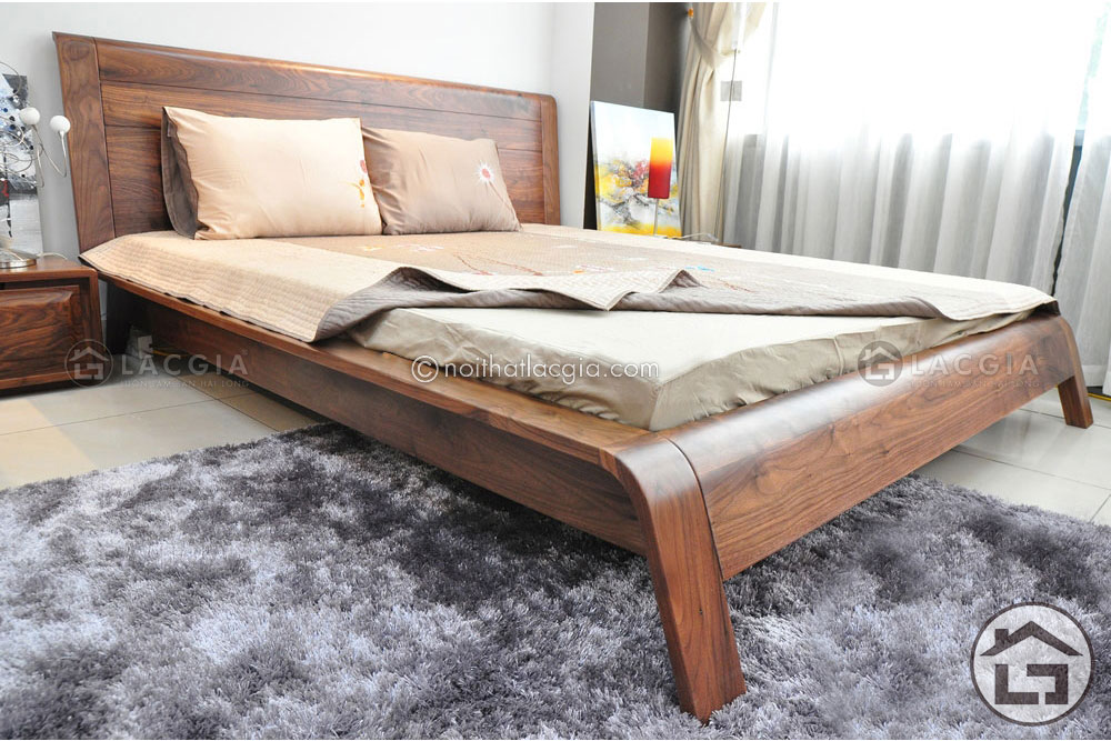 giuong ngu go dep GN13 4 - Giường ngủ hiện đại GN13