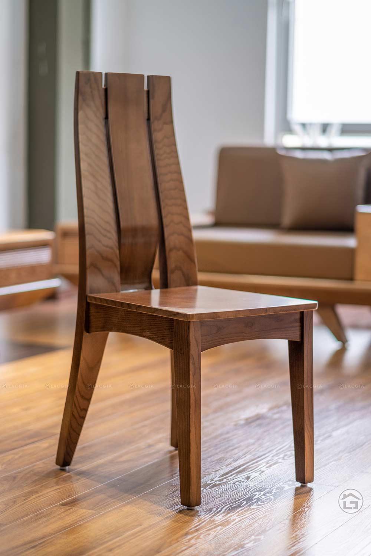 ban ghe an go hien dai ba08 3 - Bàn ghế ăn gỗ hiện đại BA08