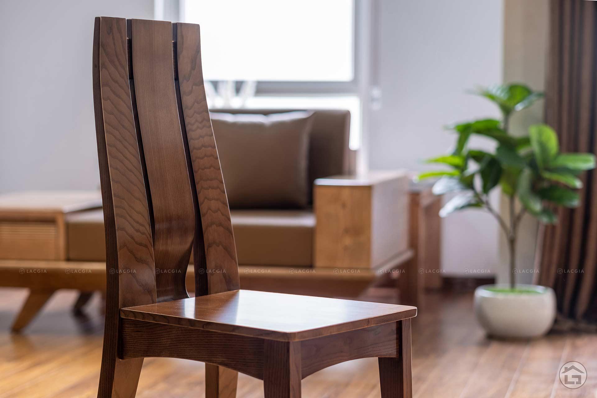 ban ghe an go hien dai ba08 4 - Bàn ghế ăn gỗ hiện đại BA08