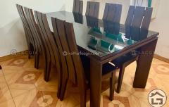 2 1 240x152 - Bàn ghế ăn gỗ cao cấp BA13