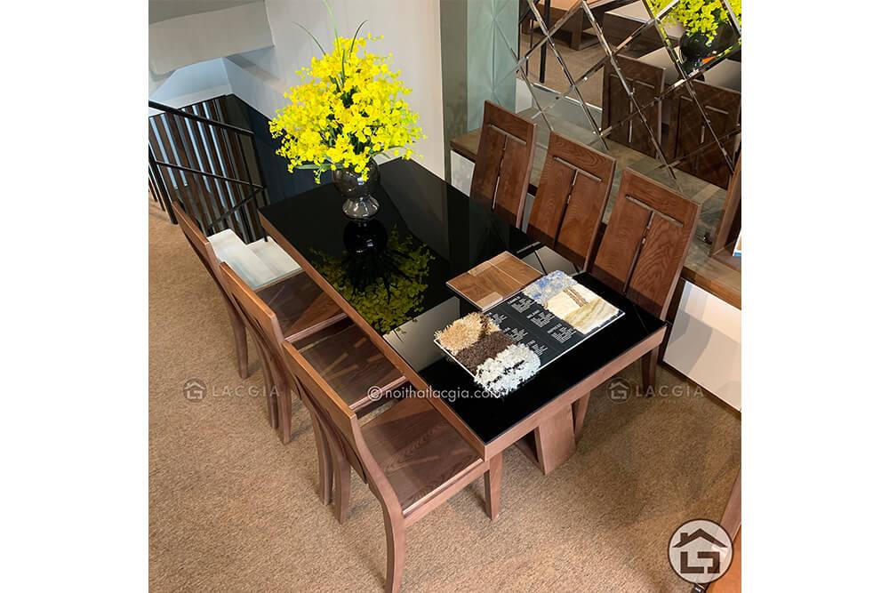 Bàn ăn gỗ đẹp BA14 4 - 10 ưu điểm của nội thất gỗ trong không gian sống hiện đại