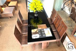 Bộ bàn ăn gỗ đẹp, hiện đại, giá tốt