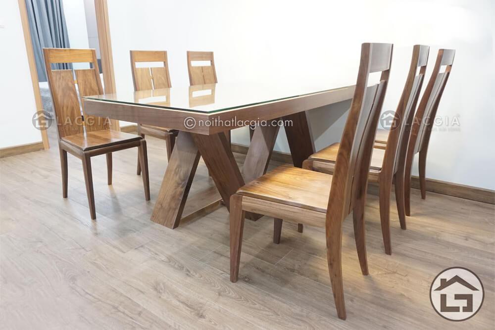 Ban an go dep hop phong thuy ban hinh chu nhat - Xu hướng của bàn ghế ăn gỗ đẹp và độc đáo năm 2020