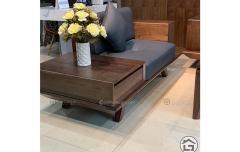 Sofa gỗ tự nhiên cho chung cư