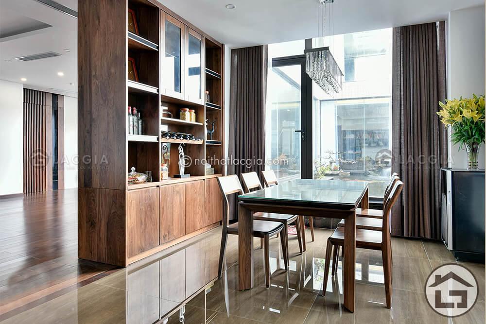 Nên chọn bàn ăn gỗ công nghiệp hay bàn ăn gỗ tự nhiên cho phòng bếp - Ảnh 3
