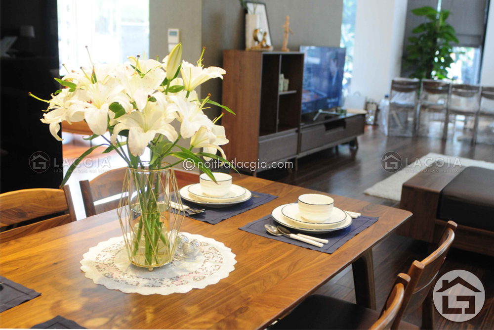 chon ban an dep 4 - Bí quyết chọn bộ bàn ăn đẹp phù hợp với không gian nhà bếp