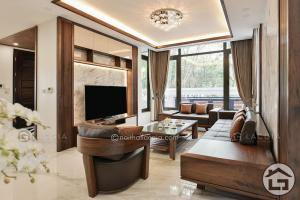 Sofa gỗ cao cấp SF09