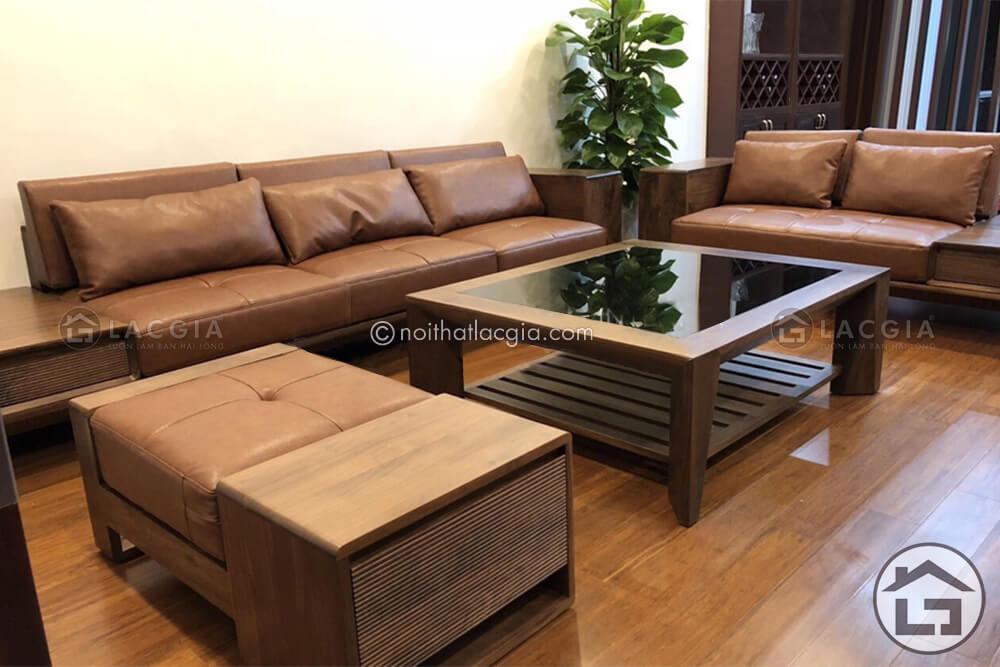 sofa go cao cap SF21 3 - Tiết lộ xu hướng thiết kế nội thất cho năm 2020