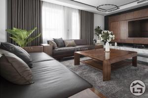 sofa go dang cap SF19 1 300x200 - Bí quyết trải thảm phòng khách cho không gian hiện đại, tiện nghi