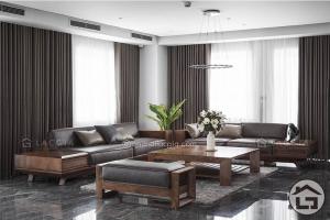 Sofa gỗ đẹp, đẳng cấp, giá tốt