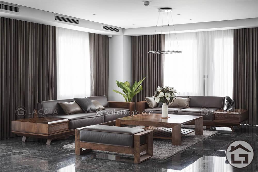 sofa go dang cap SF19 3 - Những điều đáng lưu ý khi mua nội thất cao cấp