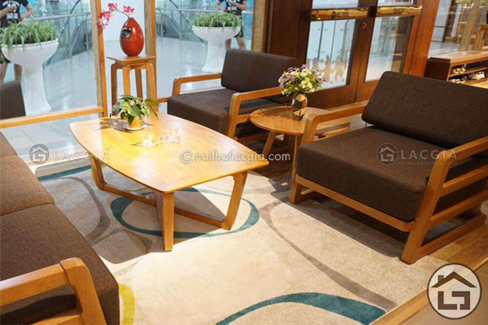 Sofa gỗ hiện đại SF14, sofa gỗ cao cấp