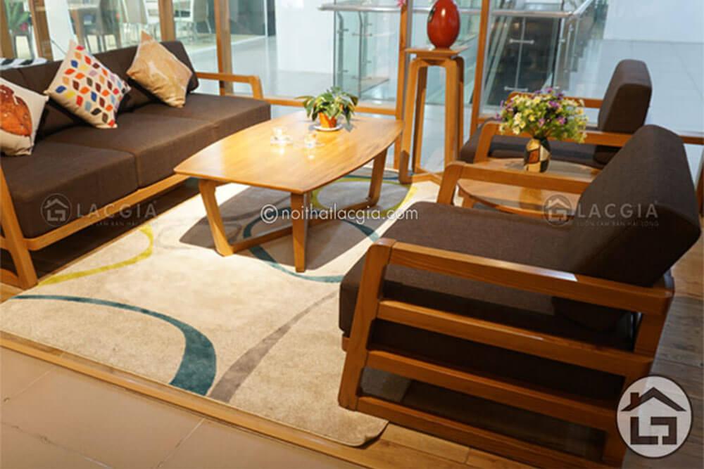 Mẫu bàn ghế sofa gỗ hiện đại SF14, sofa gỗ cao cấp