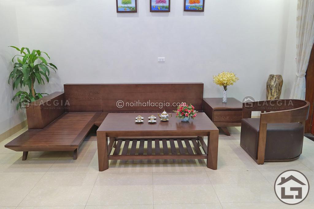 Sofa gỗ đẹp tại Lạc Gia