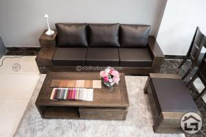 sofa go hien dai 1 1 300x200 - Hơn 90% khách hàng mắc sai lầm này khi lựa chọn bàn trà đẹp