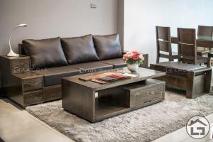 sofa go hien dai 3 1 300x200 - 5 lý do thuyết phục bạn nên lựa chọn bàn trà gỗ công nghiệp