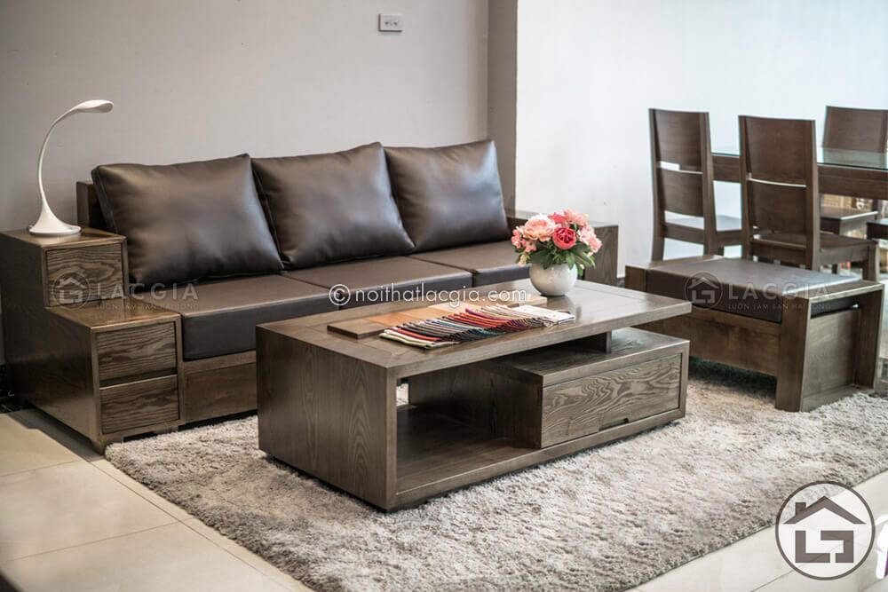 Sofa văng rất tiện dụng cho phòng khách