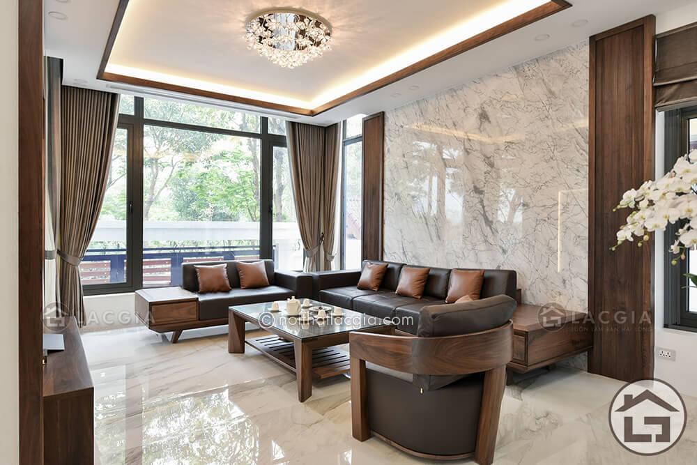 Sofa gỗ hiện đại(SF09)