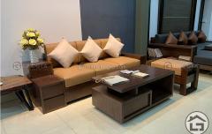 Sofa gỗ nhỏ gọn giá rẻ SF15