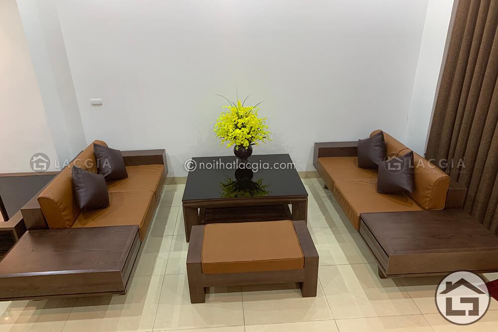 sofa go sang trong dang cap sf19 - Sofa gỗ đẳng cấp SF19
