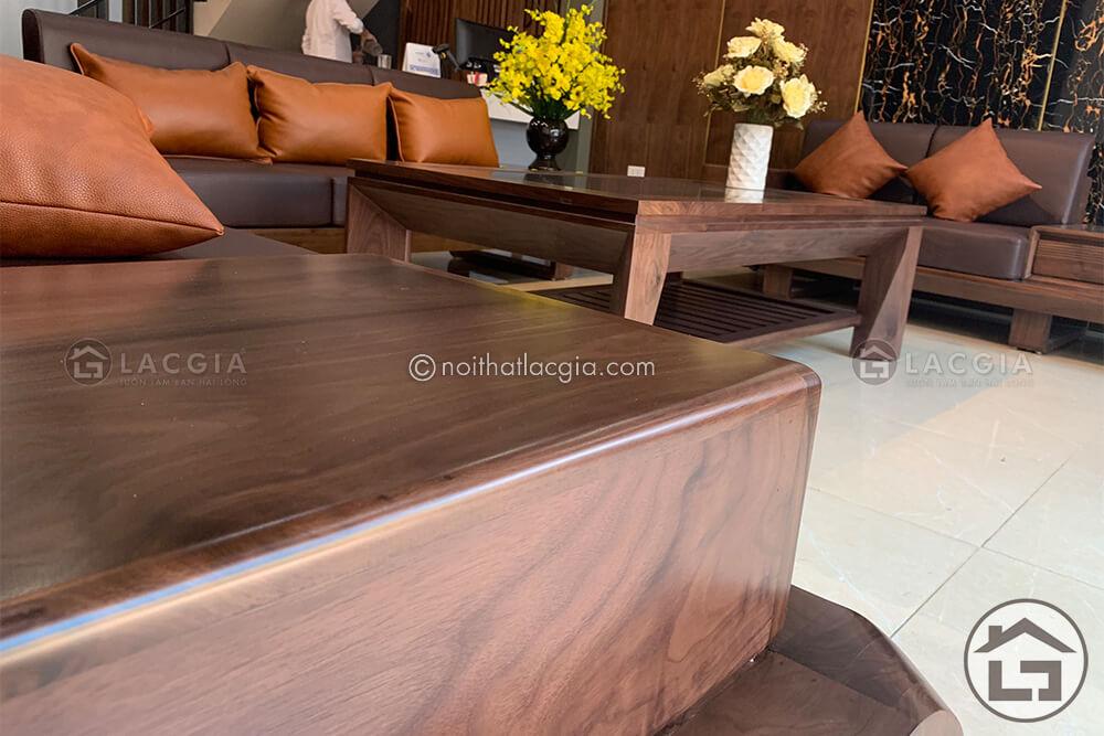 Công nghệ ghép mộng truyền thống giúp những bộ sofa gỗ phòng khách rất chắc chắn