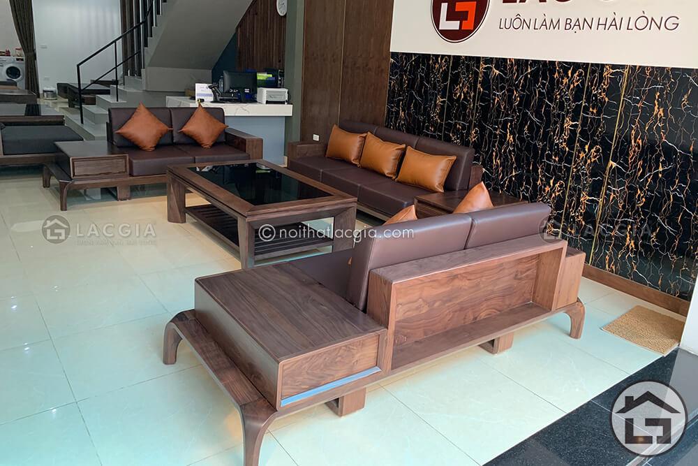 Sofa gỗ chữ U với những ưu điểm vượt trội
