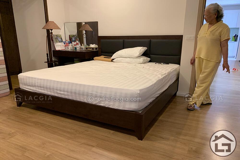 Thiết kế và thi công nội thất cho chung cư cao cấp nhà chị Hằng 14