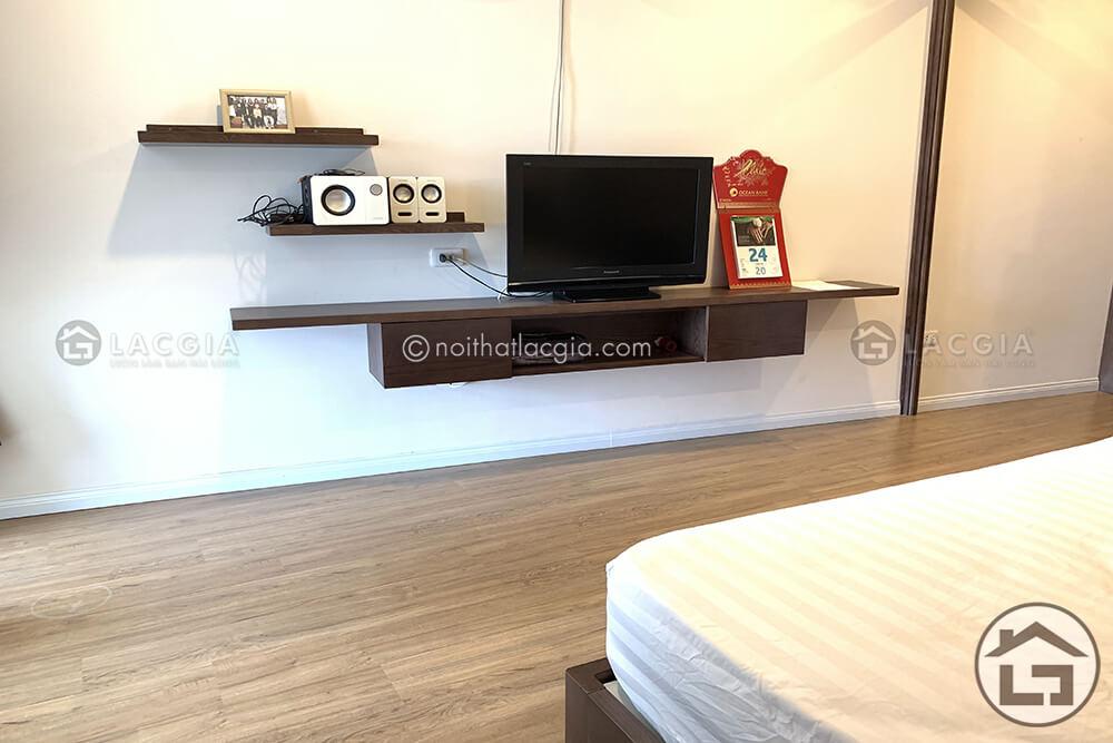 Kệ tivi gỗ đẹp cho phòng ngủ