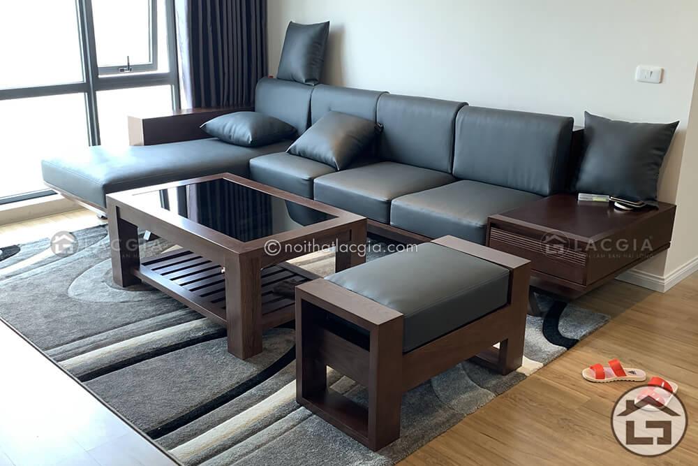 Sofa gỗ cao cấp phù hợp với người mệnh mộc