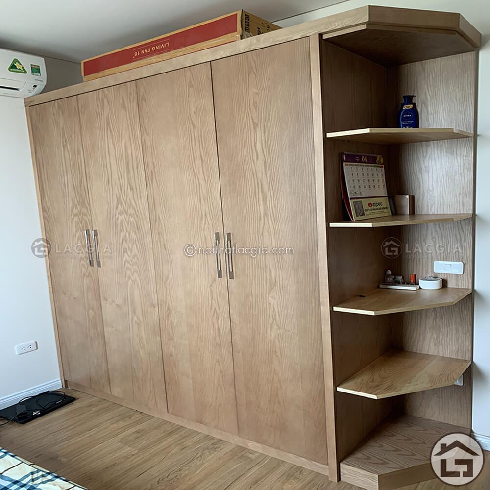 Thiết kế và thi công nội thất cho chung cư cao cấp nhà chị Hằng13