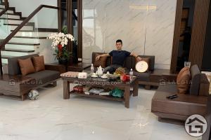Thi công và thiết kế nội thất gỗ chung cư cao cấp của chị Linh 2