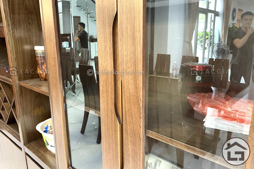 Thi công và thiết kế nội thất gỗ chung cư cao cấp của chị Linh 4