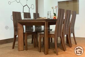 Bàn ăn gỗ 6 ghế