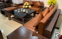 Bàn ghế sofa gỗ cao cấp, hiện đại, giá tốt