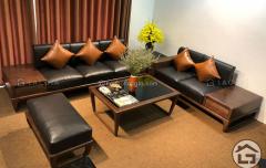 Sofa gỗ đẹp, giá tốt tại Hà Nội