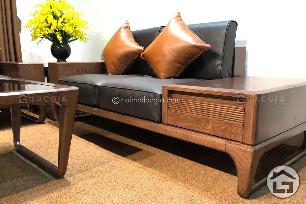 Sofa gỗ đẹp cho người mệnh hỏa