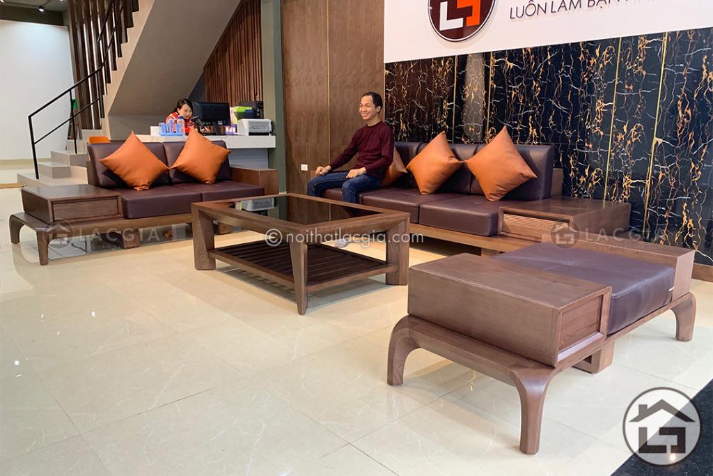 Sofa gỗ cao cấp tại Làng Nghề Thạch Thất