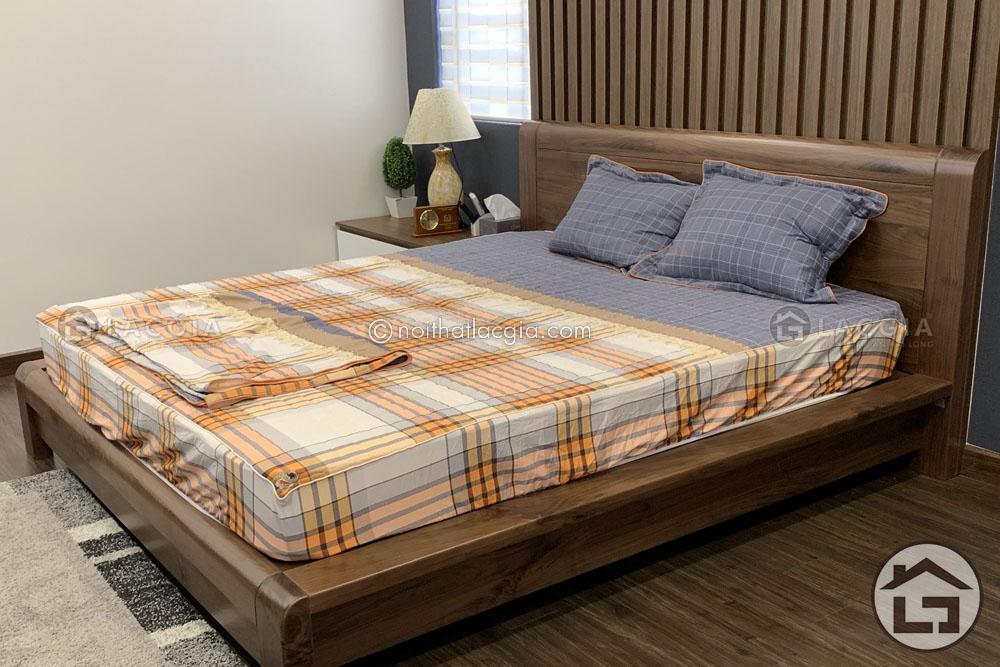 Nội thất gỗ óc chó phòng ngủ
