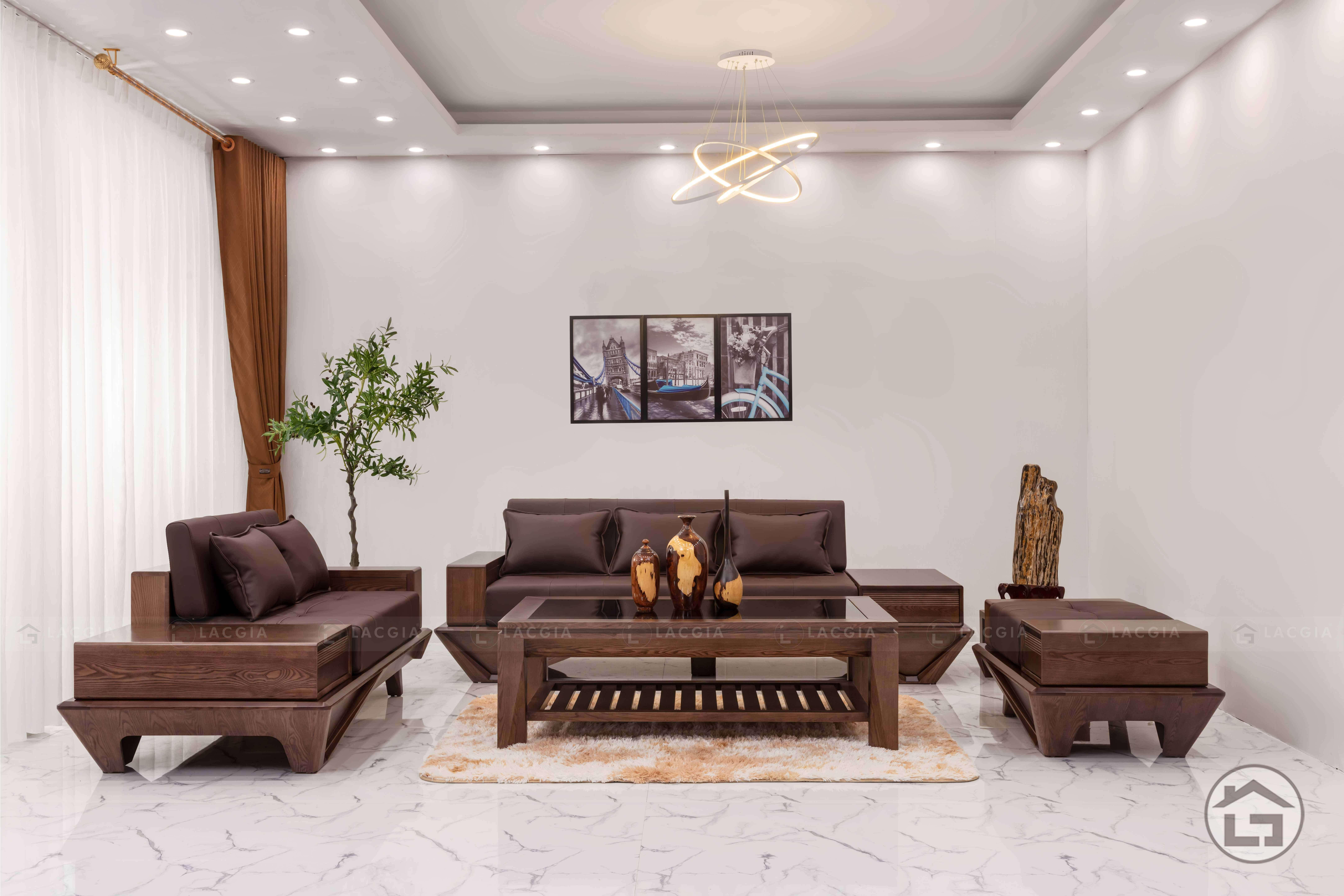 Sofa gỗ hiện đại cao cấp SF29 đẹp nhất 2020