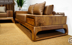 Sofa gỗ óc chó SF28