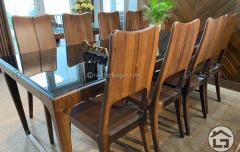 Bàn ghế ăn gỗ tự nhiên cao cấp BA18