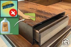 Bảo quản sofa gỗ phòng khách
