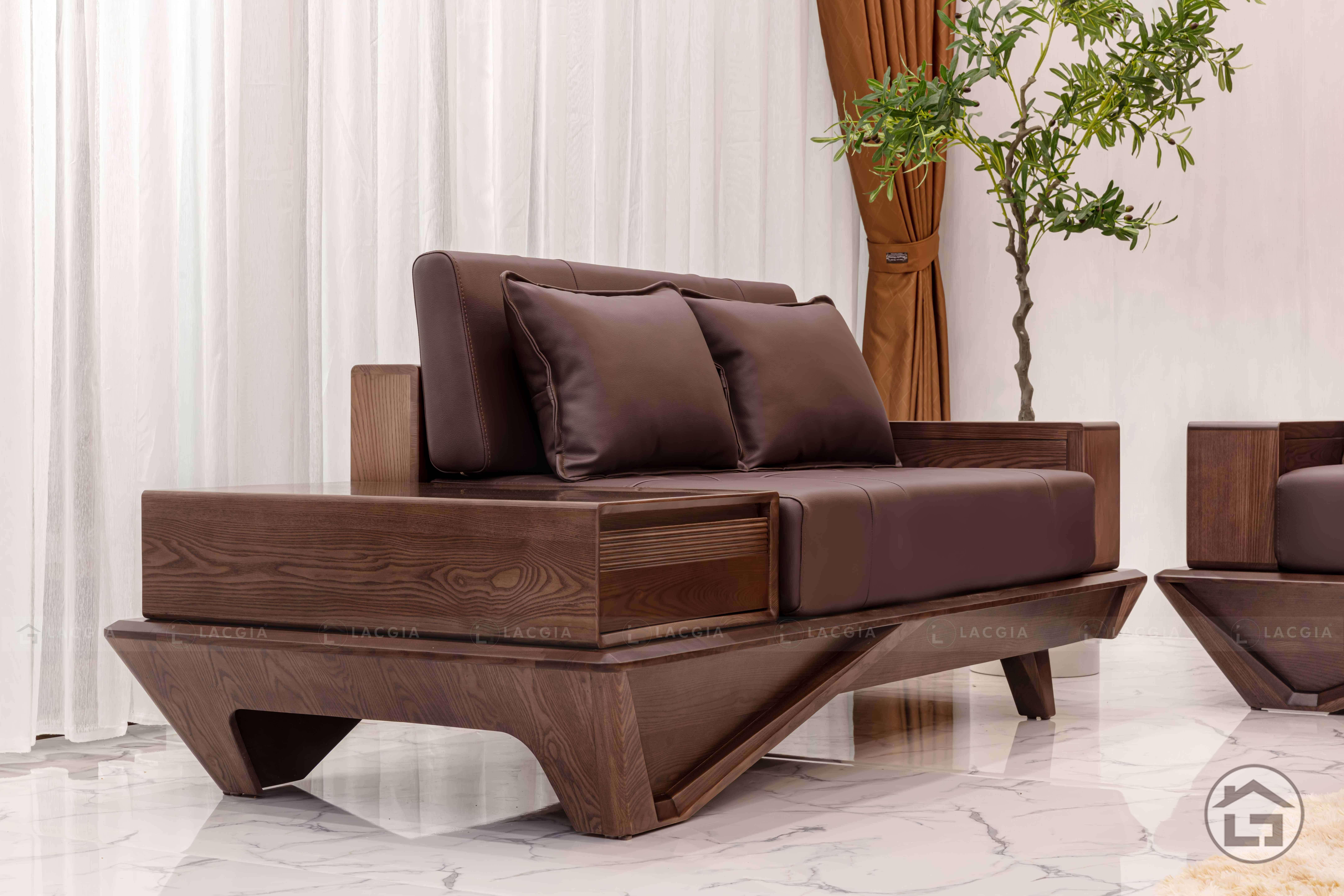 sofa go hien dai sf29 9 - Sofa gỗ hiện đại SF29