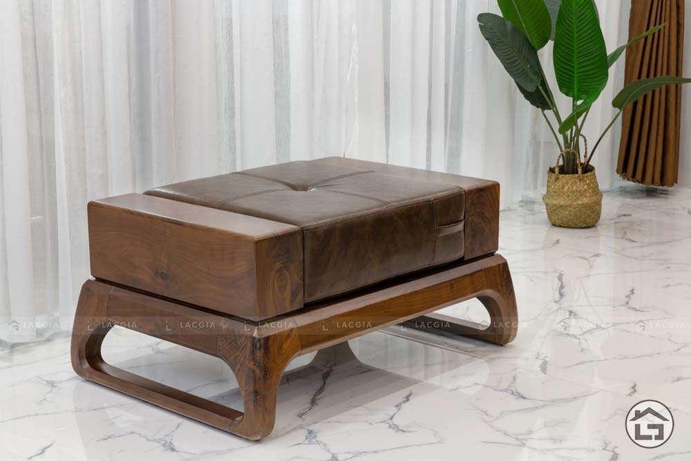 sofa go tu nhien chu l sf30 2 - Sofa gỗ tự nhiên chữ L SF30