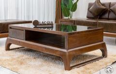 Sofa gỗ tự nhiên chữ L hiện đại SF30